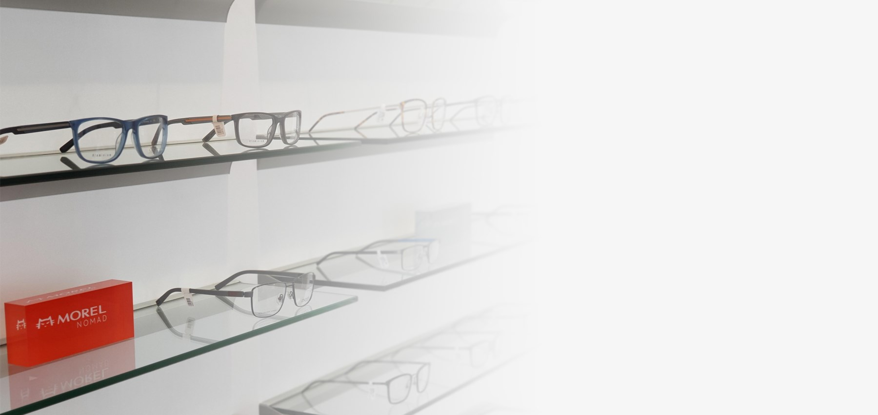 Glasses on Display at Village Optician